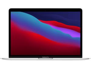 APPLE MacBook Pro (M1, 2020) MYDA2D/A, Notebook mit 13,3 Zoll Display, 8 GB RAM, 256 SSD, M1 GPU, Silber