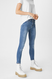 C&A CLOCKHOUSE-Skinny Jeans, Blau, Größe: 36