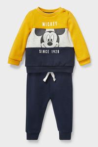C&A Micky Maus-Baby-Outfit-2 teilig, Weiß, Größe: 62