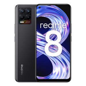 "Realme 8 64GB Cyber Black [16,3cm (6,4"") Super AMOLED Display, Android 11, 64MP Quad-Kamera]"