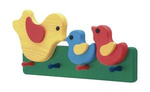 Kindergarderobe  Küken - mehrfarbig - 39 cm - 19 cm - 7 cm