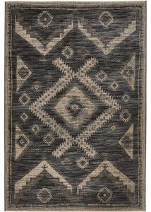 In- und Outdoor Teppich mit Rautenmuster