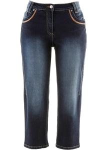 Baumwoll Capri-Jeans, Slim Fit