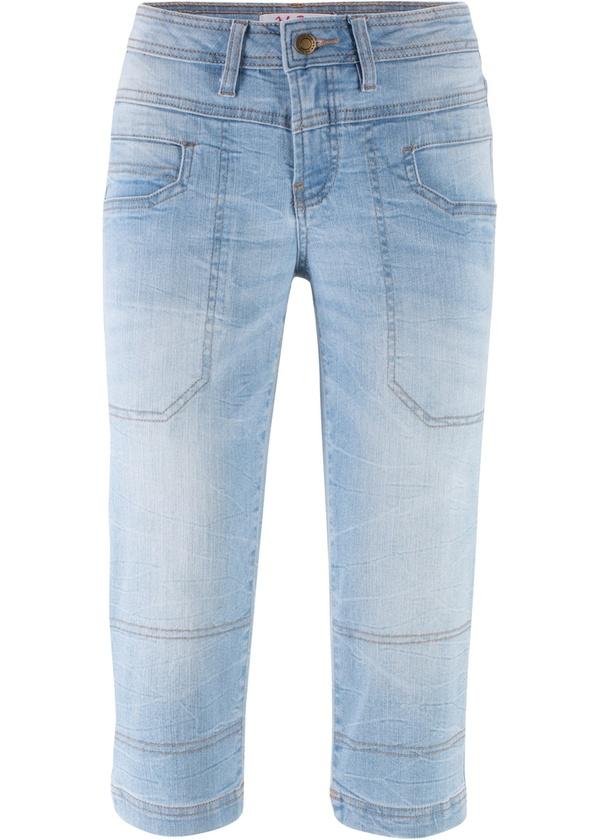 Stretch-Capri-Jeans