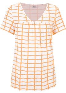 Shirtbluse mit V-Ausschnitt