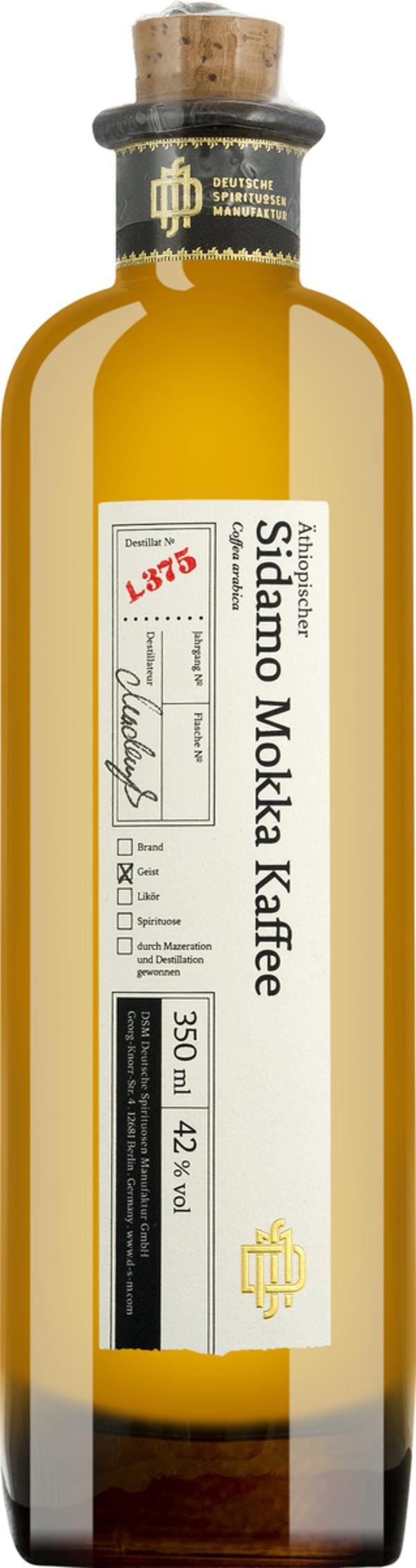 Dsm No 375 Äthiopischer Sidamo Mokka Kaffee   - Geist, Deutschland, 0.3500 l