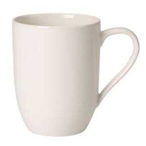Villeroy & Boch Kaffeebecher /Tassen 2er Set je 370 ml FOR ME Cremeweiß
