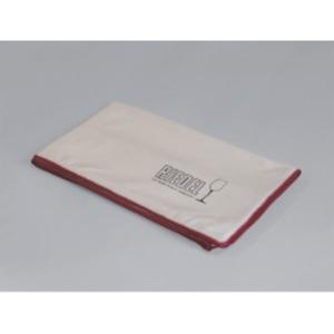 RIEDEL Poliertuch Microfaser weiß/rot