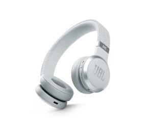 JBL kabelloser On-Ear-NC-Kopfhörer »Live 460NC«, weiß
