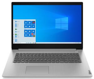 Lenovo IdeaPad 3 17IML05 platinum grey Notebook (17,3 Zoll FHD IPS, Intel Core i5-10210U, 8 GB RAM, 512 GB SSD, integrated graphic, Windows 10 Home)