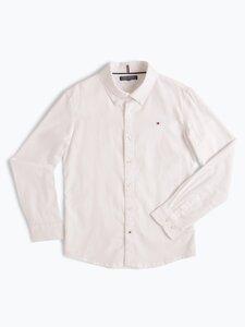 Tommy Hilfiger Jungen Hemd weiss Gr. 140