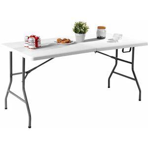 Klapptisch Campingtisch Falttisch Gartentisch Koffertisch Biertisch Esstisch Balkontisch Tisch klappbar M - Costway