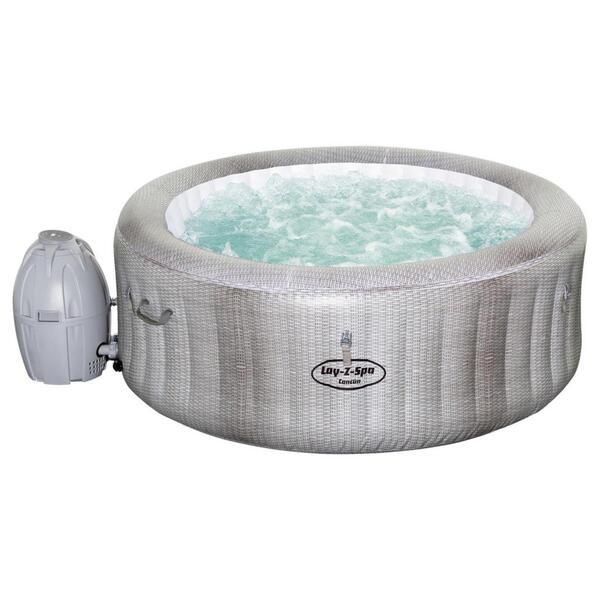 Bestway Whirlpool lay-z-spa cancun 180/66 cm grau  60003 Lay-Z-Spa Cancun  Metall