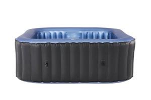 MSpa COMFORT Bubble Spa Series Whirlpool für 4 Personen mit Abdeckung 158 x 158 cm