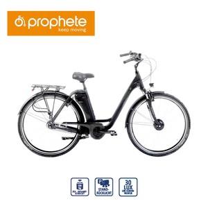 Alu-Elektro-Fahrrad Genießer EFC 300 26er oder 28er • Fahrunterstützung bis ca. 25 km/h • 5 Unterstützungsstufen • AEG Li-Ionen-Akku 36 V/11,6 Ah, 417 Wh • Reichweite: bis ca. 110 km (je n