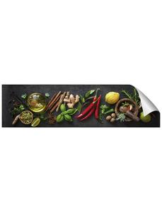 Küchenrückwand-Panel, fixy, Gewürze, 220x60 cm