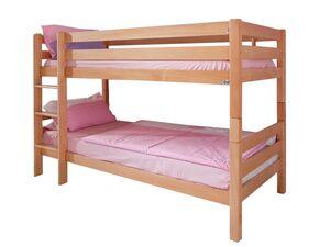 Relita Etagenbett Hochbett Kinderbett BENI natur lackiert
