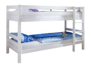 Relita Etagenbett Hochbett Kinderbett BENI weiß lackiert