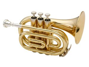 Classic Cantabile Brass bB-Taschentrompete Messing