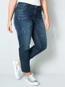 Janet & Joyce by HAPPYsize Slim-fit-Jeans, knöchellang