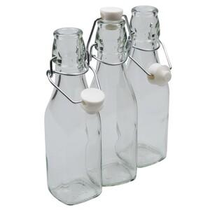 Bügelverschlussflasche 250ml Bügelflasche 3Stk.