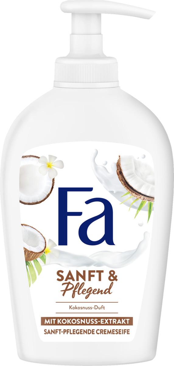 Bild 1 von Fa Sanft & Pflegend Cremeseife Kokosnuss