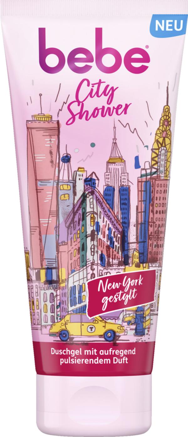bebe City Shower New York