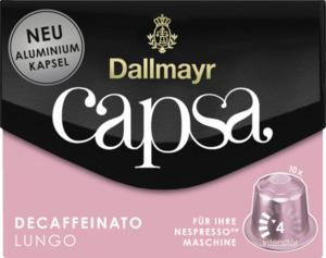 Dallmayr capsa Decaffeinato Lungo Kaffeekapseln