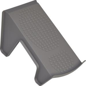 IDEENWELT 4er Set Schuhstapler grau