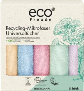 eco Freude Recycling-Mikrofaser Universaltücher