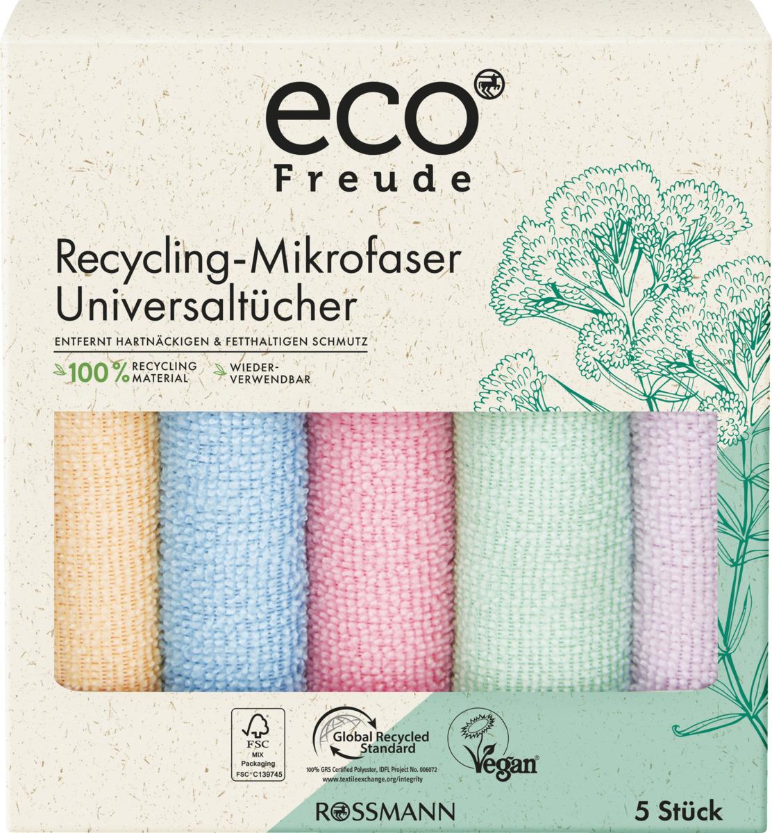 Bild 1 von eco Freude Recycling-Mikrofaser Universaltücher
