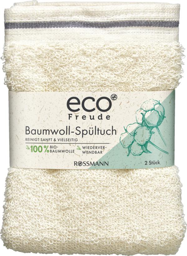 eco Freude Bio-Baumwoll-Spültuch