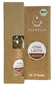 TEABALLS Bio Chai Latte naturtrüb