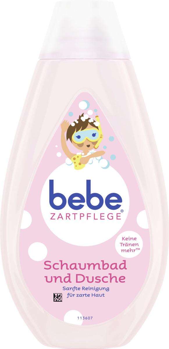 Bild 1 von bebe ZARTPFLEGE Schaumbad und Dusche