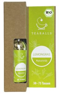 TEABALLS Bio Lemongras naturtrüb