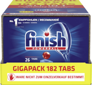Finish All in 1 Powerball Geschirrspültabs Gigapack