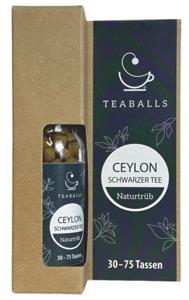 TEABALLS Ceylon Schwarzer Tee naturtrüb