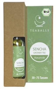 TEABALLS Bio Sencha Grüner Tee naturtrüb