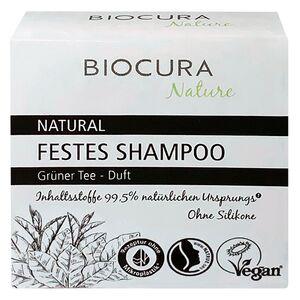 BIOCURA NATURE Festes Shampoo 60 g