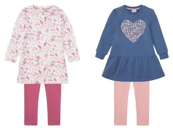LUPILU® Kleinkinder Set Mädchen, mit Baumwolle