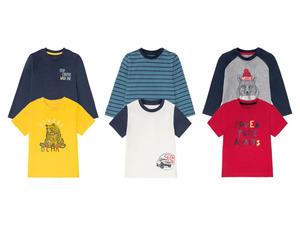 LUPILU® Kleinkinder Shirts Jungen, 2 Stück