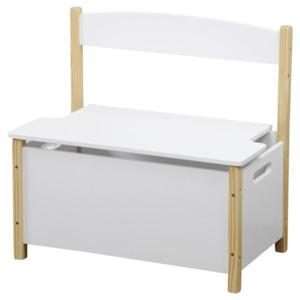 Kesper Kinder Sitzbank Weiß 60x34,5x56cm