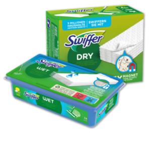 SWIFFER Bodentücher Febreze oder Feuchttücher Citrus