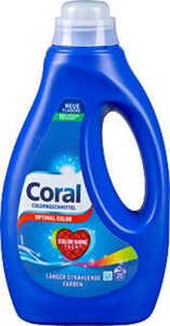 CORAL Color- oder Feinwaschmittel
