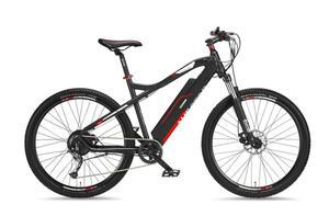 """Telefunken M920 Mountain E-Bike 27,5"""" 9-Gang Kettenschaltung, Anthrazit Rot"""