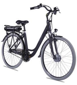 "E-Bike 28"" Alu City Bike Metropolitan JOY schwarz 36V/10Ah, 3-Gang Shimano"
