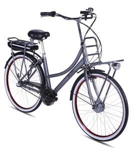 E-Bike Rosendaal2 Lady grau, Batterie 36V/15,6Ah, 3-Gang Shimano