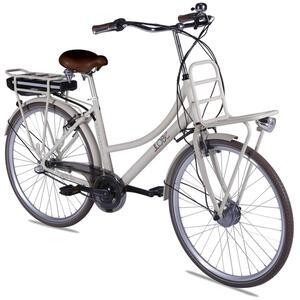 E-Bike Rosendaal2 Lady beige, Batterie 36V/15,6Ah,  3-Gang Shimano