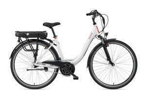 Telefunken E-Bike Damen 28 Zoll, Elektrofahrrad mit 7-Gang Nabenschaltung - Pedelec Citybike, Mittelmotor 250W & 13Ah / 36V Akku, RC890 Multitalent