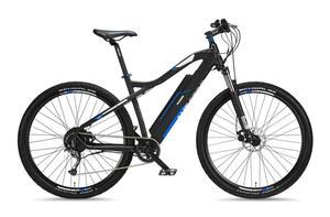 """Telefunken M920 Mountain E-Bike 27,5"""" 9-Gang Kettenschaltung, Anthrazit Blau"""